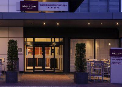 MERCURE HOTEL GRONINGEN MARTINIPLAZA ingang